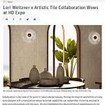 Lori Weitzner x Artistic Tile Collaboration | Interior Design | May 2019